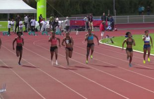 100m – Finale A – TCF – Meeting National 1 de Cergy-Pontoise – 22/06/2018 – Cergy-Pontoise