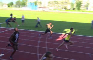 110m Haies – Finale B – Meeting National 1 de Cergy-Pontoise – 22/06/2018 – Cergy-Pontoise