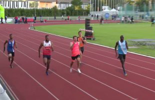 200m – Finale A – TCM – Meeting National 1 de Cergy-Pontoise – 22/06/2018 – Cergy-Pontoise