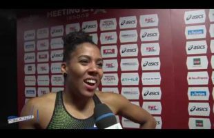 Interview MUJINGA KAMBUNDJI – Meeting de Bercy 27/01/2019 – 60m 7″24