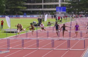 100m Haies – TCF – Serie 1 – Meeting National 1 de Cergy-Pontoise – 10/06/2019