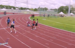 100m – TCM – Groupe 1 – Serie 2 – Meeting National 1 de Cergy-Pontoise – 10/06/2019
