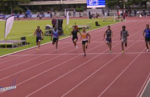 100m – TCM – Groupe 2 – Finale 2 – Meeting National 1 de Cergy-Pontoise – 10/06/2019