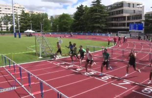 110m Haies – TCM – Finale A – Meeting National 1 de Cergy-Pontoise – 10/06/2019