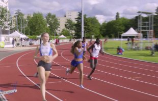 400m – TCF – Finale 1 – Meeting National 1 de Cergy-Pontoise – 10/06/2019