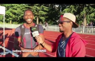 Interview Mamoudou-eliman HANNE 400m Meeting National 1 Cergy-Pontoise
