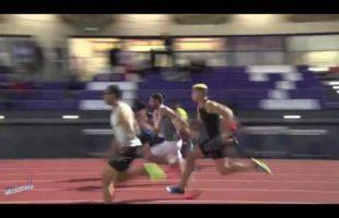 100m – Finale A – TCM – Meeting National 1 de Cergy-Pontoise – 22/06/2018 – Cergy-Pontoise