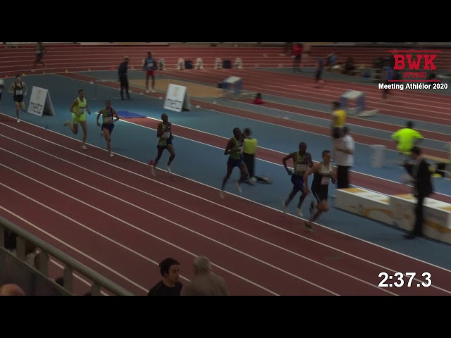 1500m – Finale – TCM – Meeting Metz Moselle Athlélor – 09/02/2020