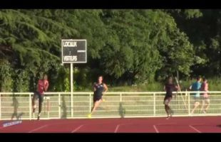 400m – Finale A – TCM – Meeting National 1 de Cergy-Pontoise – 22/06/2018 – Cergy-Pontoise