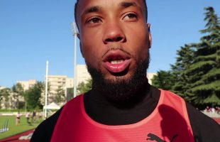 Interview Ludovic Payen 110m Haies Meeting National 1 Cergy-Pontoise