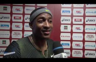 Interview MIKE RODGERS – Meeting de Bercy 27/01/2019 – 60m 6″65